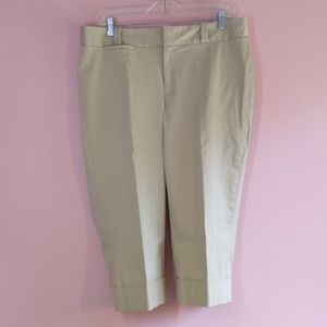 Banana Republic Jackson Fit Stretch Ankle Trousers